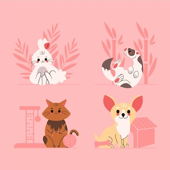 Pack d'animaux adorables