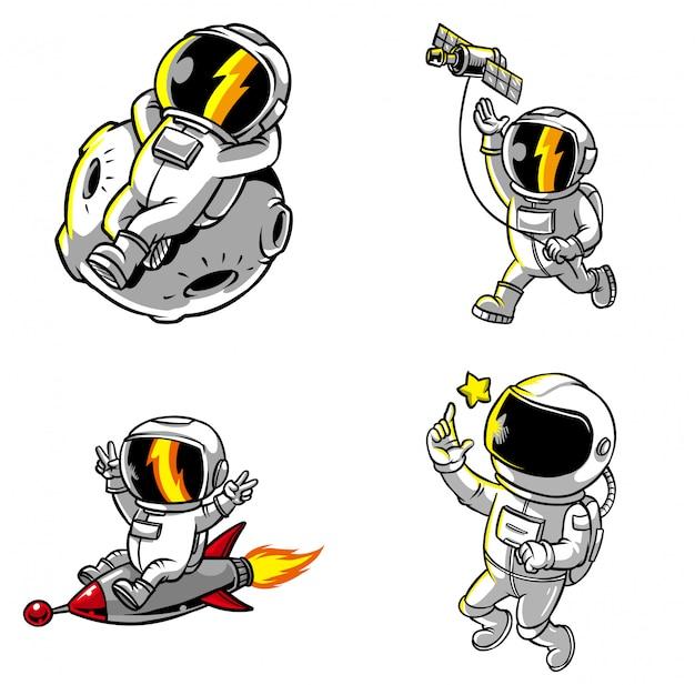 Pack astronautes