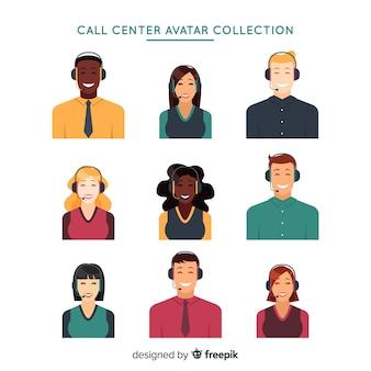 Pack avatar centre d'appel