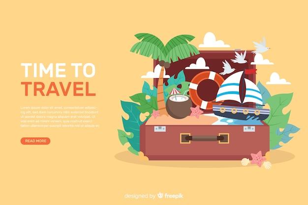 Pack bannière de voyage