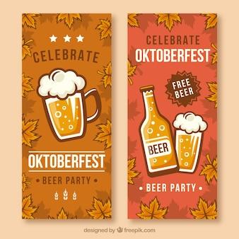 Pack de bannières pour la célébration la plus oktoberfest