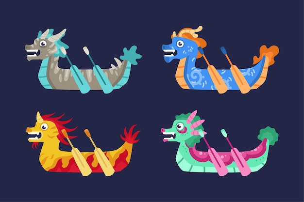 Pack bateau dragon
