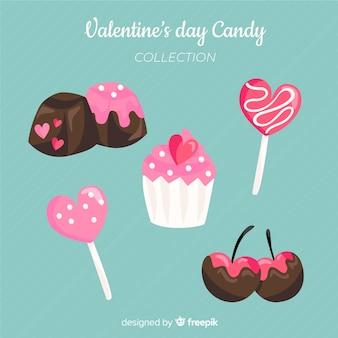 Pack de bonbons valentine