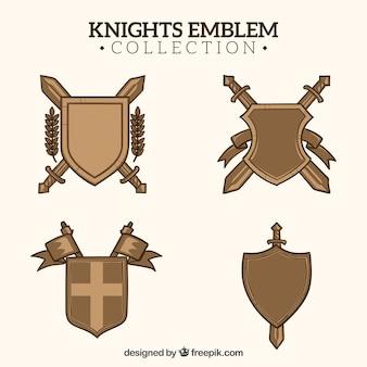 Pack de boucliers de chevalier
