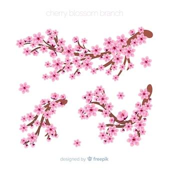Pack branche de fleurs de cerisier