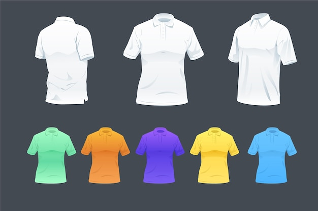 Pack chemise polo