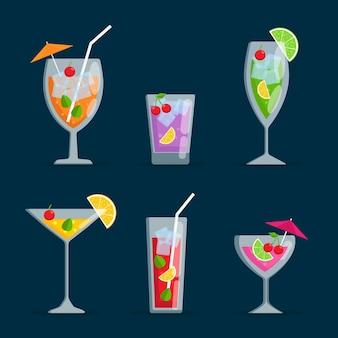 Pack cocktail design plat