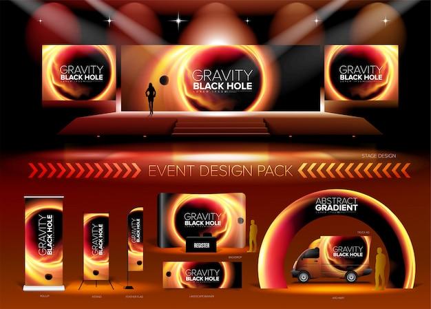 Pack de conception d'événement