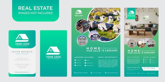 Pack de conception de modèle immobilier