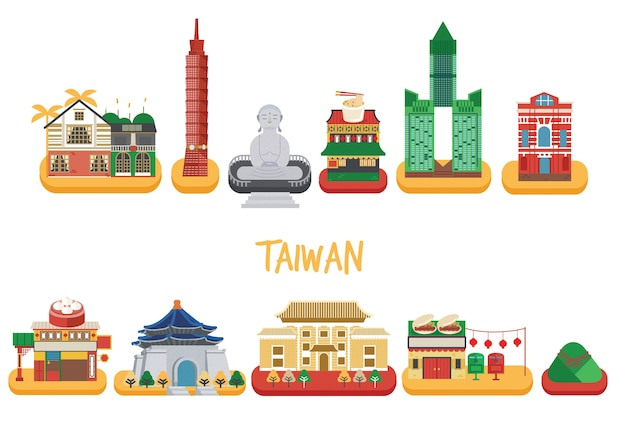 Pack de construction de taiwan