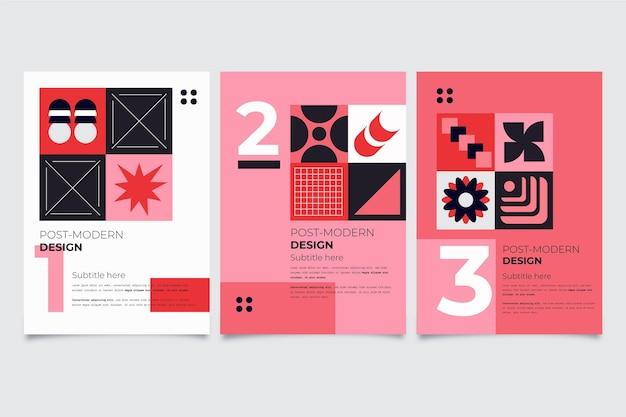Pack de couverture d'entreprise postmoderne