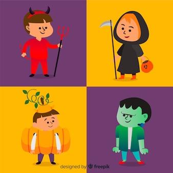 Pack créatif de personnages halloween pour enfants