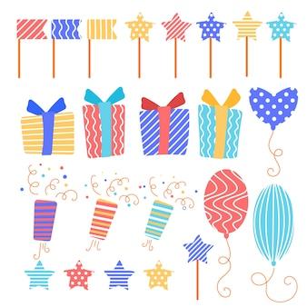 Pack de décoration d'anniversaire