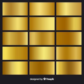 Pack dégradé doré