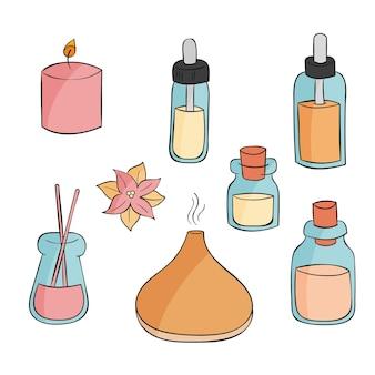 Pack d'éléments d'aromathérapie