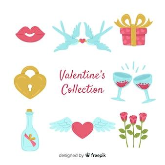 Pack éléments valentine