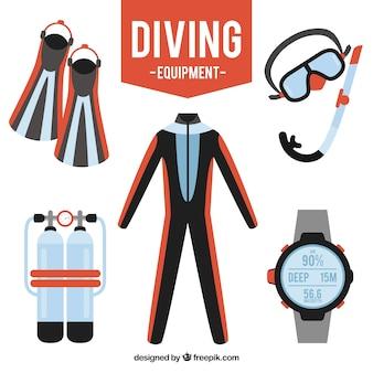 Pack équipement de plongée