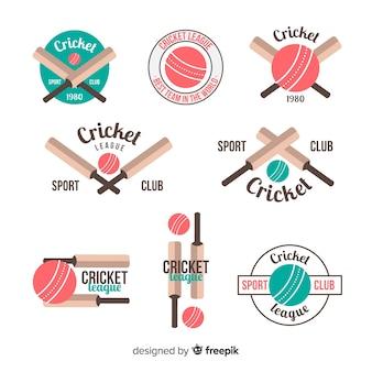 Pack d'étiquettes de cricket