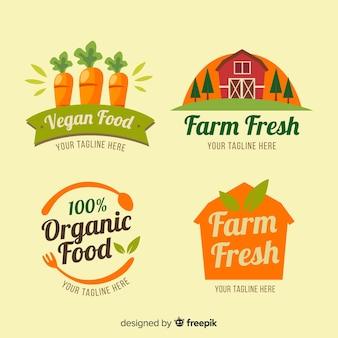 Pack d'étiquettes de ferme bio