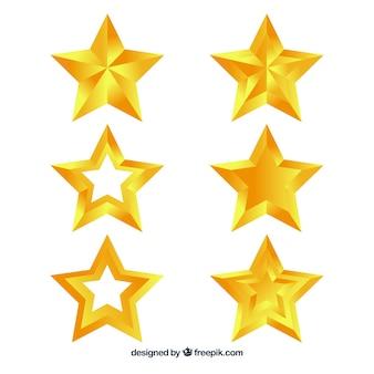 Pack d'étoiles décoratives