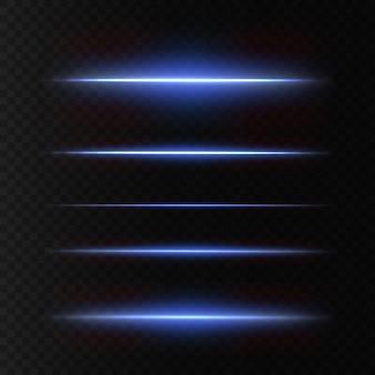 Pack de fusées éclairantes horizontales blanches