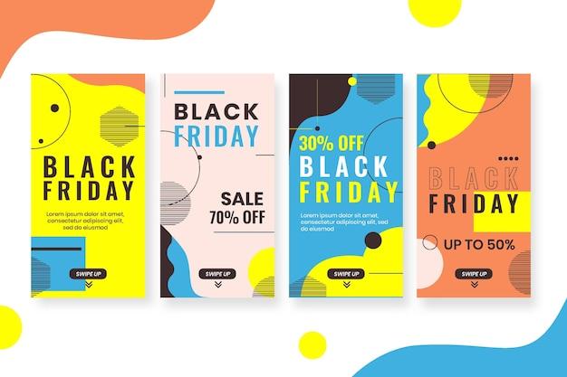 Pack d'histoires instagram du vendredi noir