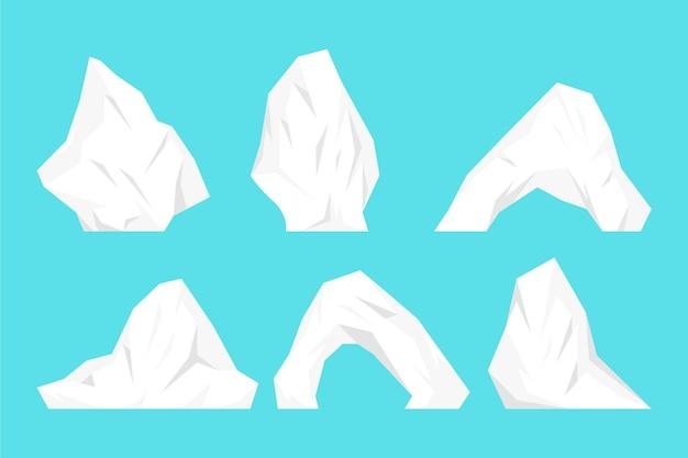 Pack d'icebergs
