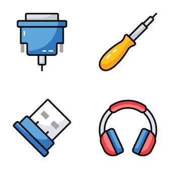 Pack d'icônes de matériel informatique