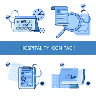 Pack d'icônes médicales