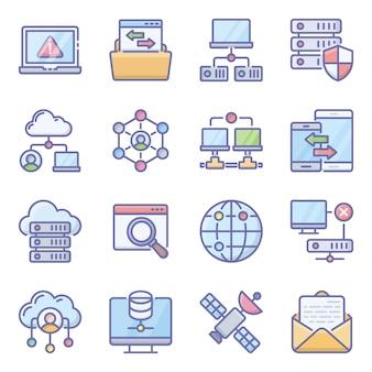 Pack d'icônes de périphériques de communication
