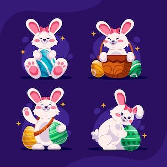Pack de lapin de pâques mignon