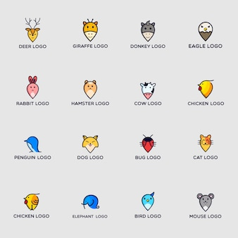 Pack logo animaux