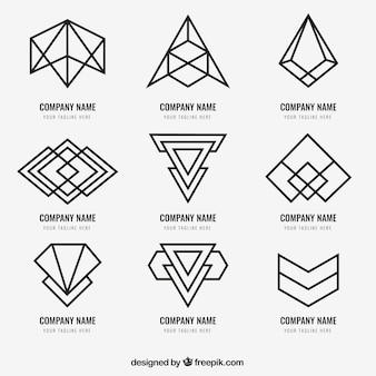 Pack de logo monoline moderne