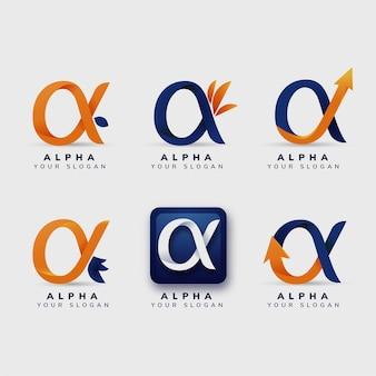 Pack de logos alpha plats