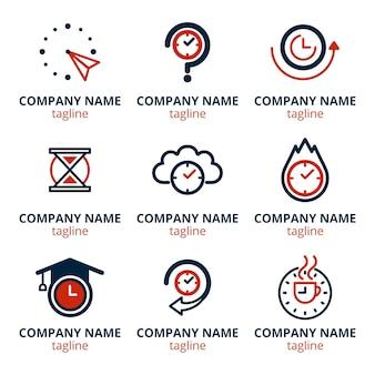 Pack de logos de conception plate