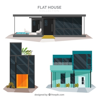 Pack de maison moderne