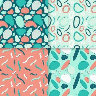 Pack de motifs abstraits dessinés à la main