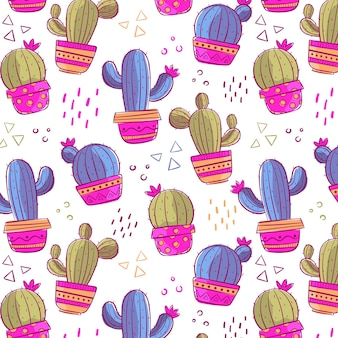 Pack de motifs de cactus