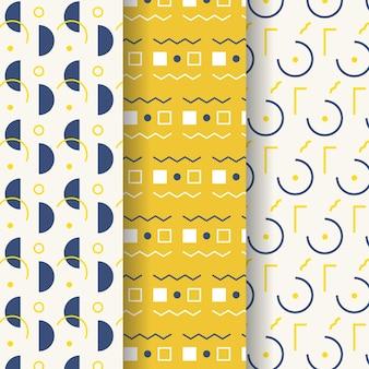 Pack de motifs de conception géométrique