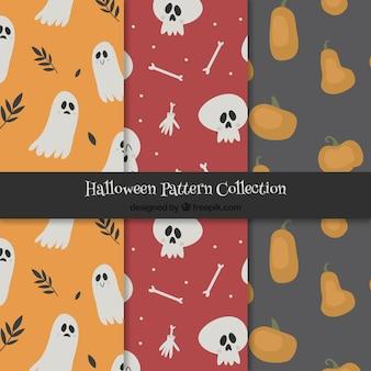 Pack des motifs décoratifs d'halloween