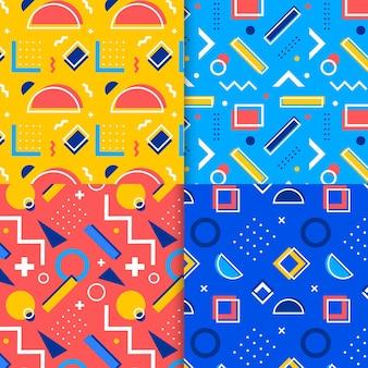 Pack de motifs design memphis