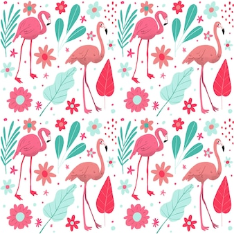 Pack de motifs flamants roses