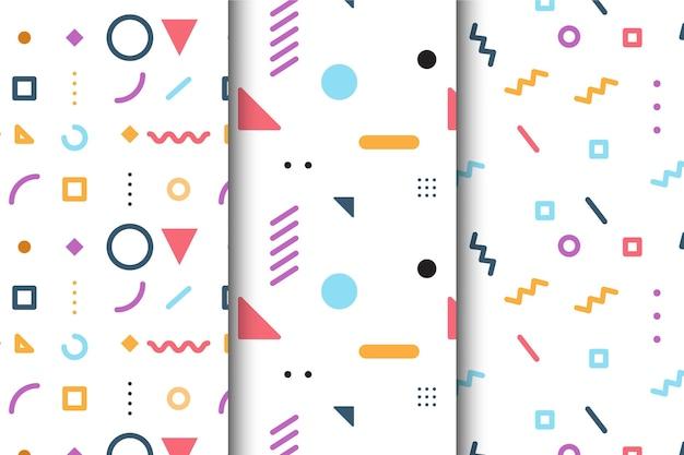 Pack de motifs géométriques minimaux