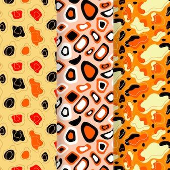 Pack de motifs modernes à imprimé animal