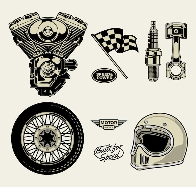 Pack moto
