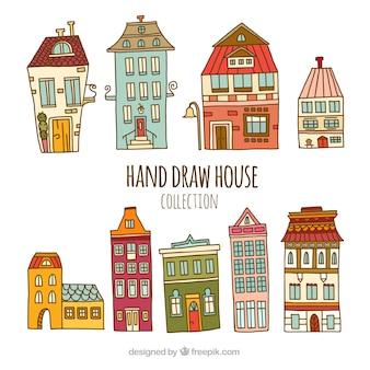 Pack de neuf maisons