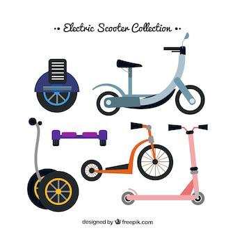 Pack original de scooters électroniques