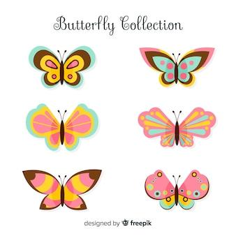 Pack papillon plat