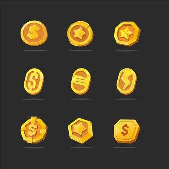 Pack de pièces d'or