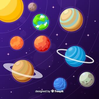 Pack de planètes du système solaire